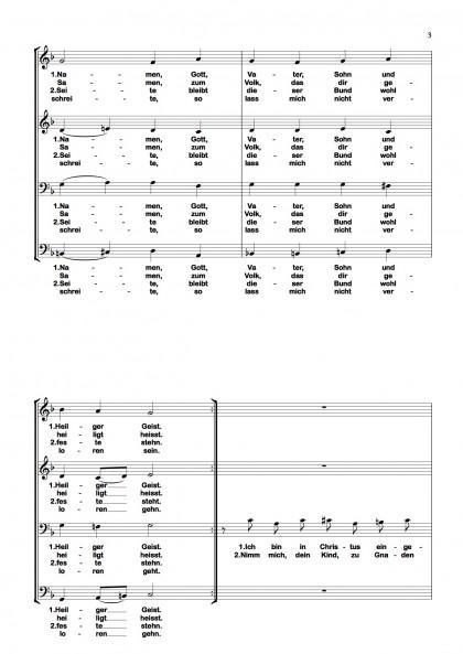 Ich bin getauft - Chormotette (3)