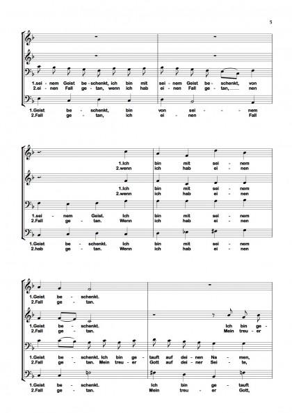 Ich bin getauft - Chormotette (5)