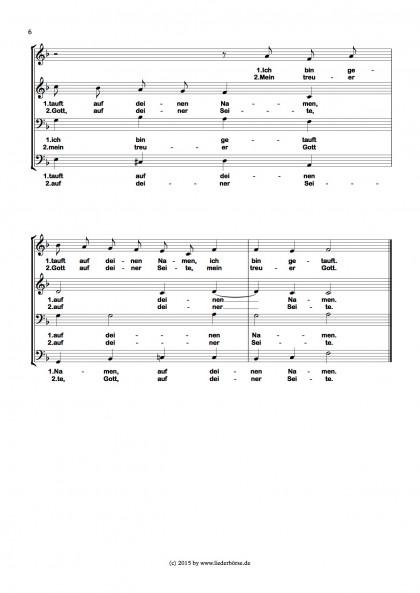Ich bin getauft - Chormotette (6)